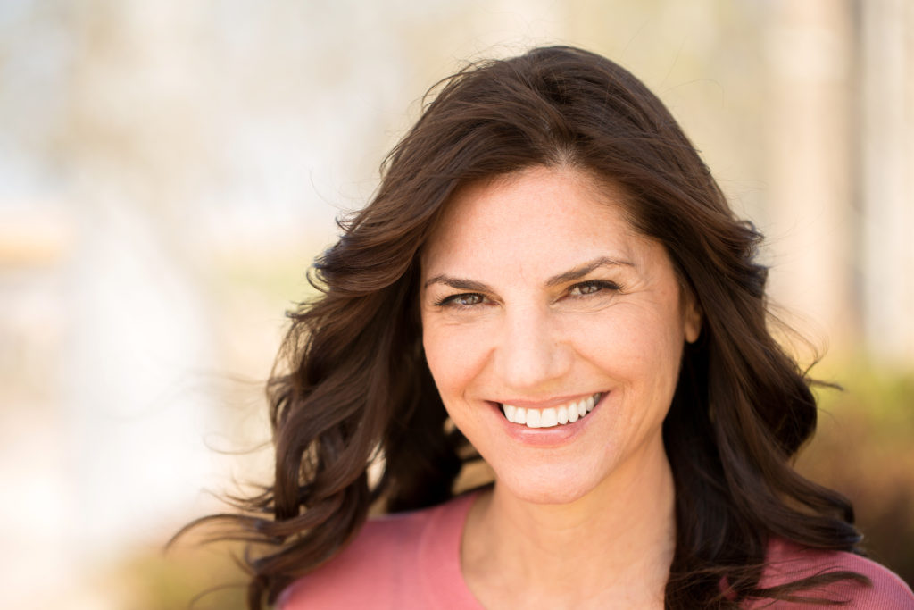 women smiles - teeth